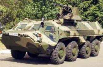 Харьковские партизаны атаковали колонну врага на захваченном БТР-4