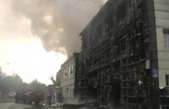 Партизаны уничтожили в Харькове склад с зимней формой для карателей